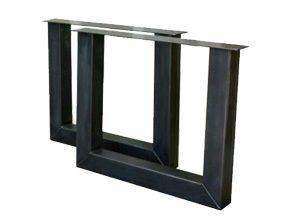 metalen tafelonderstel model U dubbel