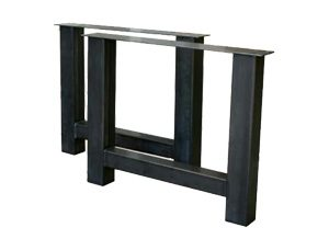 metalen tafelonderstel h