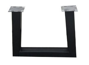Metalen tafelonderstel u open