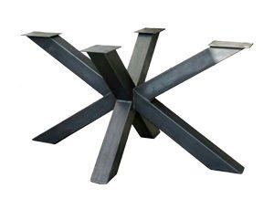metalen tafelonderstel spin